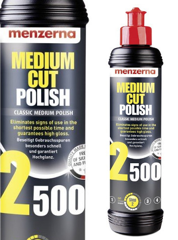 MENZERNA 2500 Medium Cut Polish pasta polerska
