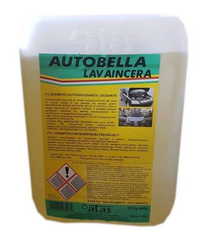 ATAS AUTOBELLA z woskiem szampon samochodowy 10L