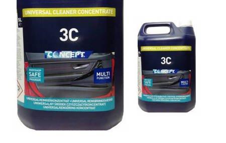 CONCEPT 3C 5L czyszczenie wnętrza Kokpit Podsufitka Plastik Welur Koncentrat