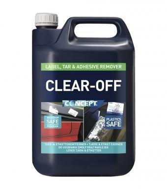 CONCEPT CLEAR-OFF 5L usuwanie oleju kleju asfalt