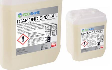 ECO SHINE DIAMOND SPECIAL 5kg Płyn nabłyszczający do zmywarki Twarda Woda