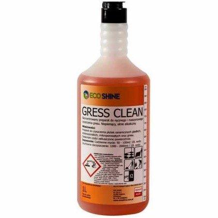 ECO SHINE GRESS CLEAN 1L zasadowe mycie gresu