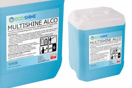ECO SHINE MULTISHINE ALCO 5L alkoholowy preparat czyszczący