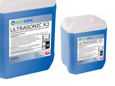 ECO SHINE ULTRASONIC K3 5L koncentrat do myjek ultradźwięko