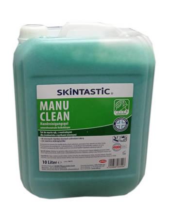 Eilfix MANU CLEAN Żel 10L zielony do mycia rąk BHP