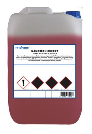 Fraber Cera Nanotech CHERRY 5L Wosk samochodowy na such i na mokro do myjni