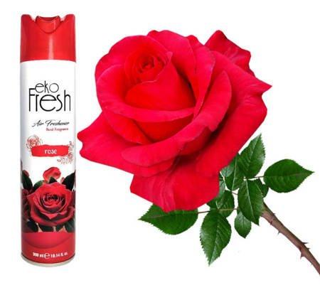 KALA EkoFresh odświeżacz powietrza neutralizator zapachów dom biuro 300ml Rose Róża