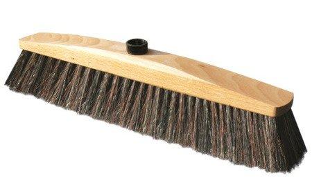 Miotła DREWNIANA 30cm włosiem naturalnym podjazdy