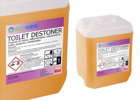 TOILET DESTONER 5L Usuwa kamień i rdzę MOCNY Odkamienianie muszli klozetowej Żel do toalet usuwający najtrwalszy kamień